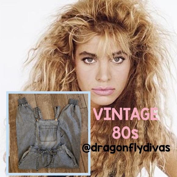 1fb0148120f4 Vintage 80s Acid Washed Overalls Jumpsuit S - EUC.  M 5c2e8f4134a4efb6350de7e1. Other Jeans ...